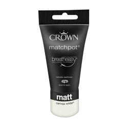 Тестер Боя CROWNR MATT EMULSION CANV WHITE / 40