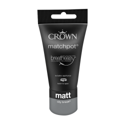 Тестер CROWN MATT EMULSION CITY BREAK / 40