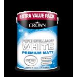 БОЯ CROWNR MATT EMULSION BRIL. WHITE/ 3