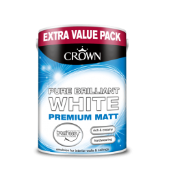 БОЯ CROWNR MATT EMULSION BRIL. WHITE/ 3