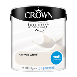 Боя CROWNR MATT EMULSION CANV WHITE / 2,5