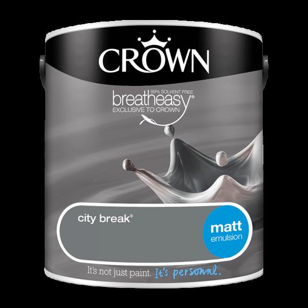 Боя CROWN MATT EMULSION CITY BREAK / 2,5