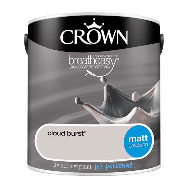 Боя CROWN MATT EMULSION CLOUD BRST / 2,5