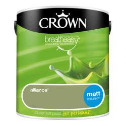 БОЯ CROWN MATT EMULSION ALLIANCE / 2,5