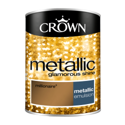 БОЯ CROWN FASHION WALL METALLC MILLIONAIR / 1,25 – ЗА АКЦЕНТ