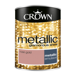 БОЯ CROWN FASHION WALL METALLC ROSE GOLD  / 1,25 – ЗА АКЦЕНТ