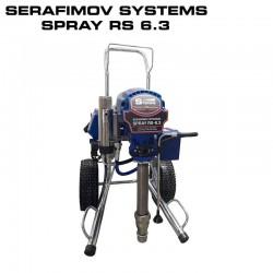 машина за шпакловане и боядисване Serafimov Systems RS- 6.3