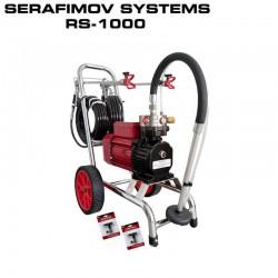 МАШИНА ЗА БОЯДИСВАНЕ SERAFIMOV SYSTEMS RS-1000 – 2G