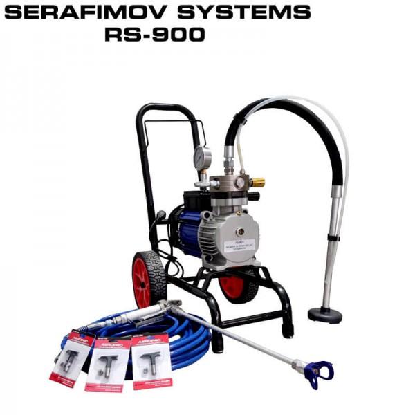 МАШИНА ЗА БОЯДИСВАНЕ SERAFIMOV SYSTEMS RS-900 – 3T