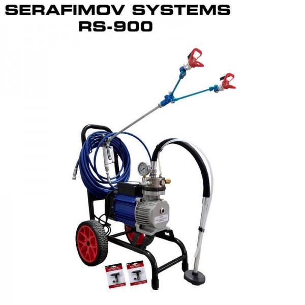 МАШИНА ЗА БОЯДИСВАНЕ SERAFIMOV SYSTEMS RS-900 – DPG