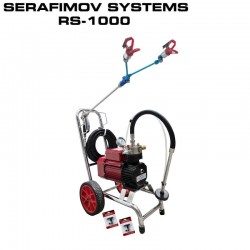 МАШИНА ЗА БОЯДИСВАНЕ SERAFIMOV SYSTEMS RS-1000