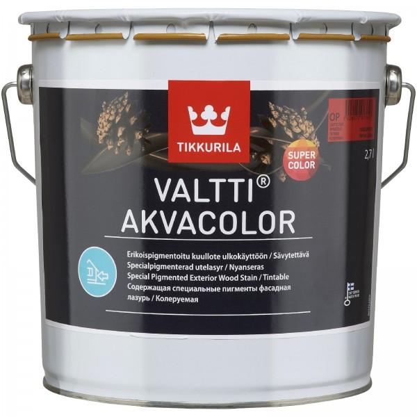 МАСЛО ЗА ДЪРВО VALTTI AKVACOLOR 2.7 л