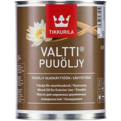 Масло за дърво VALLTI WOOD OIL EC TIKKURILA O.9л.